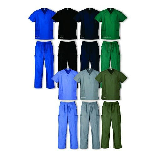 Mix Of Polyester OT Uniform, Size: Small And Medium And Large