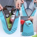 Lunch Bag Picnic Box Waterproof  Cloth Cooler Thermal Food Drinks Hand Lunch Bag