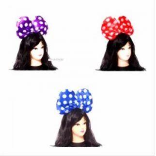 Assorted Big Polka Dot Bow Hairband at Rs 249  4bc9cb8580c