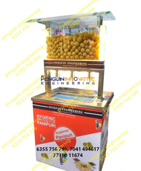 Automatic Pani Puri Serving Machine