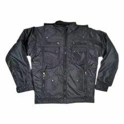 Full Sleeve Polyester Mens Designer Winter Jacket, Size: S-XXXL