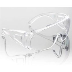 Polycarbonate 3M 1611 IN Clear Lens Hard Coat Visitor Spectacles, Ansi