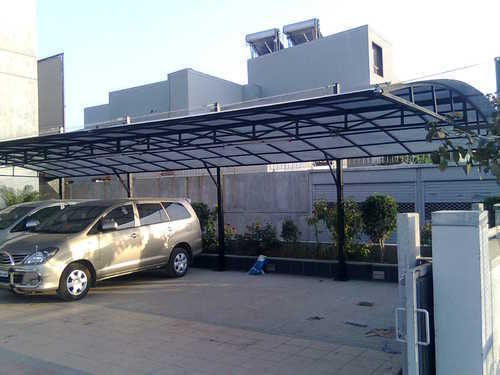 Parking Shed Car Parking Tensile Shed Manufacturer From New Delhi
