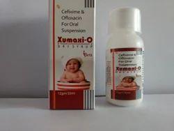 Cefixime & Ofloxacin Oral Suspension