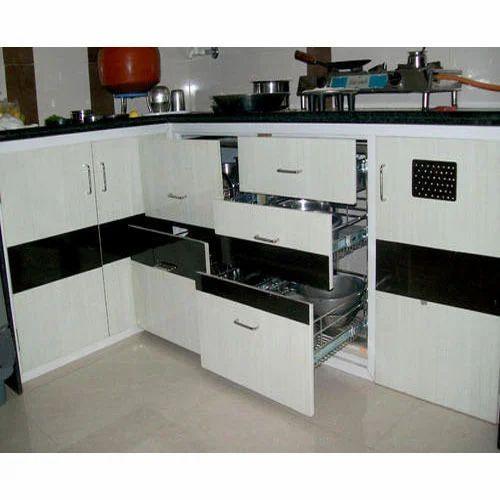 Kaka Pvc Kitchen Furniture: UPVC Kitchen Cupboard At Rs 500 /square Feet