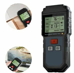 Portable Digital LCD Electromagnetic Radiation Tester Electric Field Magnetic Field Dosimeter Detect