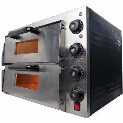 Modern Stone Double Deck Pizza Oven