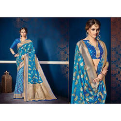 Ladies Stylish Party Wear Saree