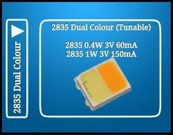 2835 0.4W Dual Colour LED