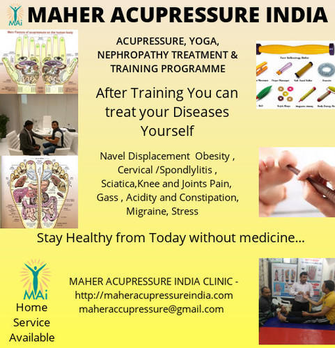 Self Acupressure Treatment Training Program in Sector 46