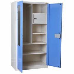 Double Door Mild Steel Almirah, for Home, Office etc