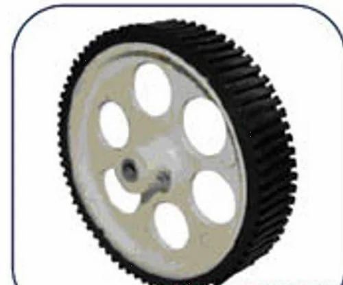 Wheels Tyres 100x20mm Robotics Wheel Manufacturer From Madurai