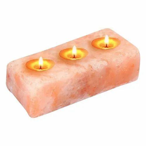 Himalayan Pink Salt Rock Votive Candle Holder Tealight Craft Wedding Home Decor