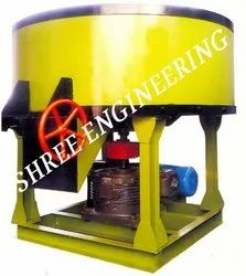 Semi-Automatic Pan Concrete Mixer