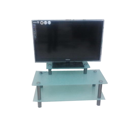 Ss Glass Tv Stand Table Nima Metals Manufacturer In Ranjit
