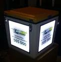 Food Delivery Box With LED Light