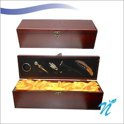 Wine Bottle Box and Accessories Set