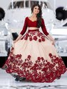 Designer Net Heavy Embroidery Lehenga