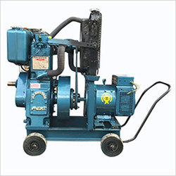 Bajaj M Portable Silent Petrol Diesel Generator Set Power 9 KW