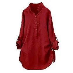 Natural Recycle Organic Cotton Ladies Long Tops