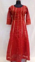 Bandhej Partywear Gown