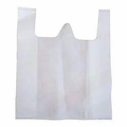 W-Cut Plain Non Woven Bag