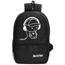 Black Auxter Casual Backpacks, Size: 45 x 32 x 22 cm
