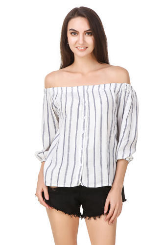 Off Shoulder Cotton Top