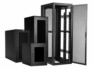 Steel Floor Mounting Networking Racks Up To 4u To 42u Size