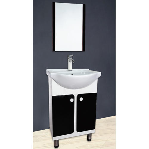 560 X 430 Mm White Black Ivory Brown 22 Inch Bathroom Vanities With Mirror