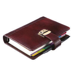 Business Organizer Leather NDM Lock