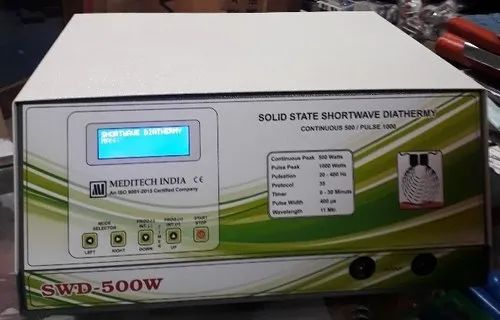 Physiotherapy Equipment - Solid State Shortwave Diathermy