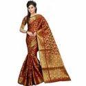 Ladies Banarasi  Silk Saree