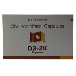 Cholecalciferol D3-2K Capsules