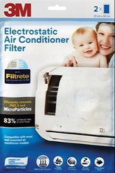 83% Paper 3M Electrostatic Air Conditioner Filter
