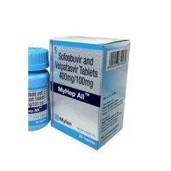 MyHep All Sofosbuvir and Velpatasvir Tablet
