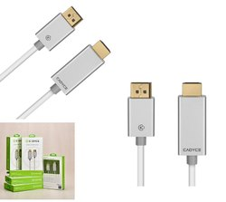 DisplayPort to HDMI Cable with Audio