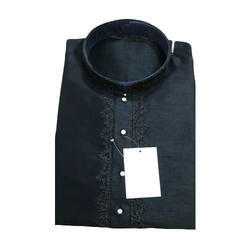 Mens Black Kurta