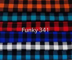 Cotton Checks Twill Fabric for Garments