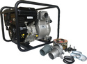Water Clogging TPH100, Ha-ko brand 4 Trash Pump With 420cc Petrol Engine