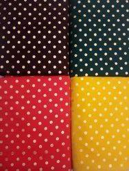 Pulka Dot Printed Fabric