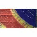 Casual Wear Printed Ladies Designer Georgette Bandhej Saree, 5.5 M (separate Blouse Piece)