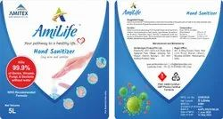 Paper Sanitiser Sticker