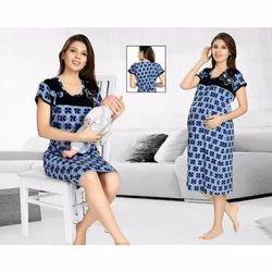 53a501da7c Feeding Maternity Nighty at Rs 920 /piece | Maternity Nightgowns ...