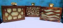 Shilp Utsav Wooden Clutch
