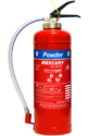 Mercury 6kg Dry Powder Fire Extinguishers (cartridge Type)