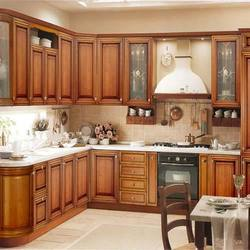 Wooden Commercial Modular Kitchens