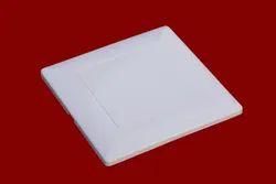 Plastic Square 5X5 PVC Modular Plate