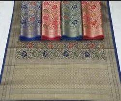 Silk Banarasi Organza Handloom Sarees