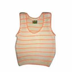 Wool Orange Newborn Baby Winter Vest, 0-9